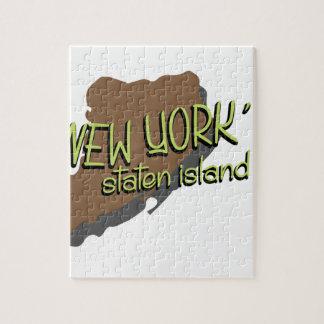 Newyork's Island Jigsaw Puzzle
