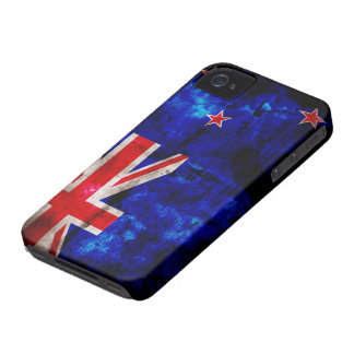 NewZealander Flag iPhone 4 Case-Mate Cases