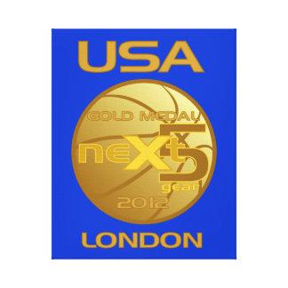 NEXT 5 GOLD MEDAL 2012 CANVAS PRINTS