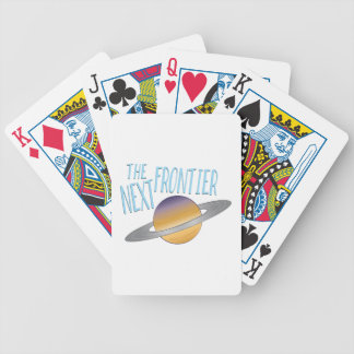 Next Frontier Bicycle Playing Cards