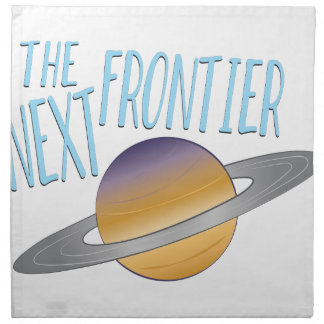 Next Frontier Napkin