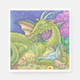 Next Generation Baby Dragon Fantasy PAPER NAPKINS