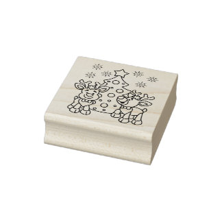 Next Generation Christmas Rubber Stamp