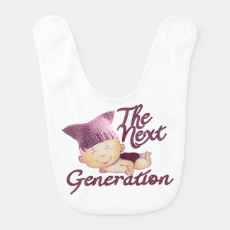 Next Generation Feminist #1D Bib