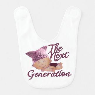 Next Generation Feminist #2D Bib