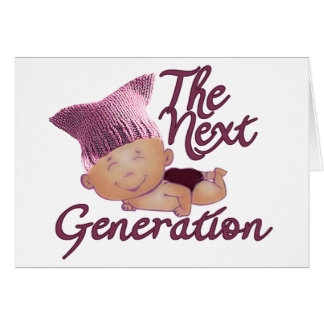 Next Generation Feminist #2E Card