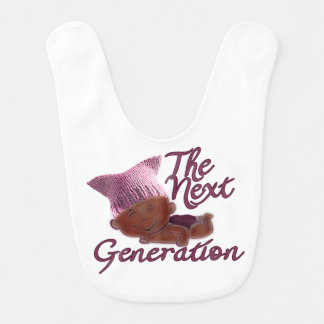 Next Generation Feminist #3D Bib