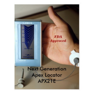 Next GenerationApex Locator  APX21E. Here. Now. Postcard