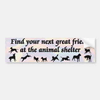 Next Great Friend Bumper Sticker