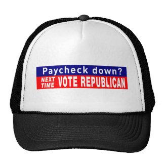 Next Time VOTE REPUBLICAN Hats