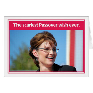 Next Year in Palinstine Funny Passover Card