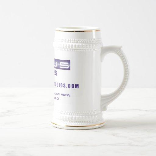 Nexus logo stein coffee mug