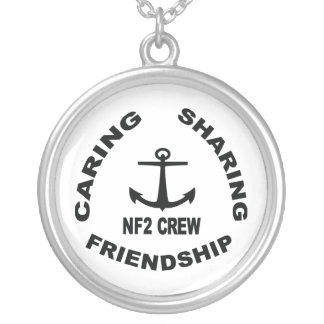 NF2Crew Necklace w/ Black Logo