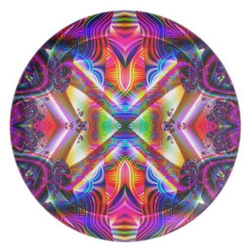 NF314 Fractal Art Design Plates