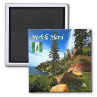 NF - Norfolk Island - Panorama Magnet
