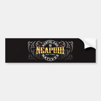 Ngapuhi Lifer Moko Bumper Sticker