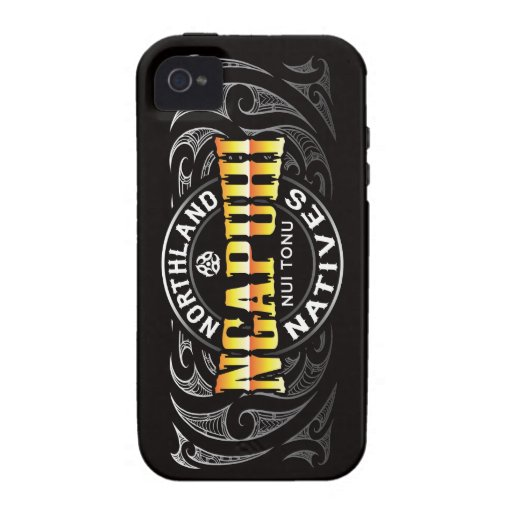 Ngapuhi Lifer Moko Vibe iPhone 4 Cover