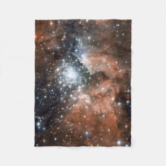 NGC3603 Nebula Small Fleece Blanket
