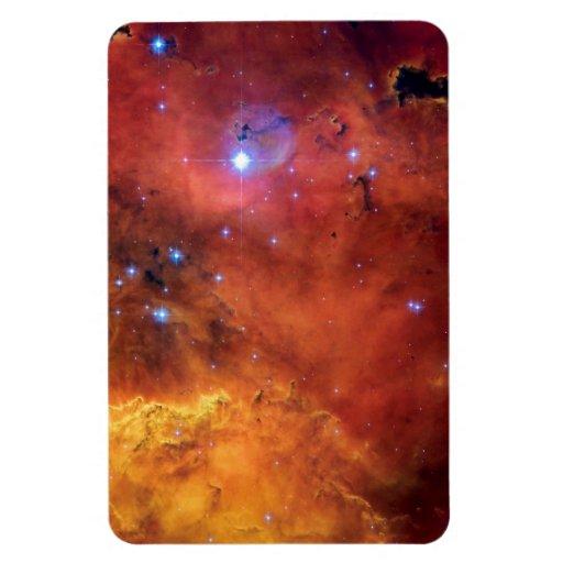 NGC 2467 Star Forming Nebula Rectangle Magnets