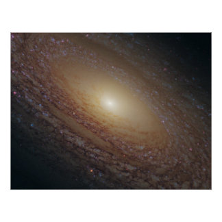 NGC 2841 Spiral Galaxy Poster