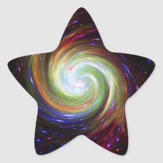NGC 346 Twirl Star Sticker