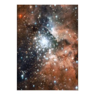 Ngc 3603 Emission Nebula 13 Cm X 18 Cm Invitation Card