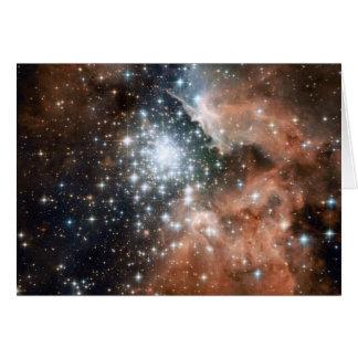 Ngc 3603 Emission Nebula Greeting Card