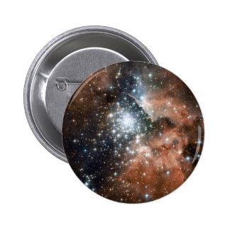 Ngc 3603 Emission Nebula Pinback Button