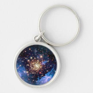 NGC 3603 Star Cluster - NASA Hubble Space Photo Key Ring