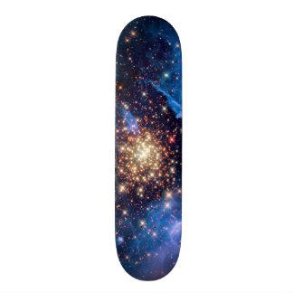 NGC 3603 Star Cluster Skateboard Deck