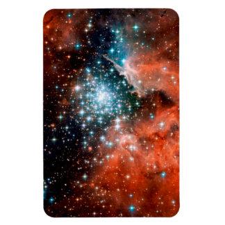 NGC 3603 Star Forming Region Rectangular Photo Magnet