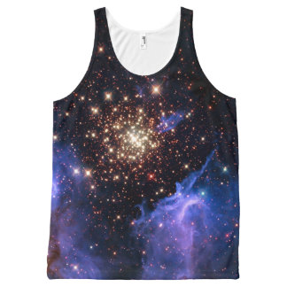 NGC 3603 super star cluster NASA All-Over Print Singlet