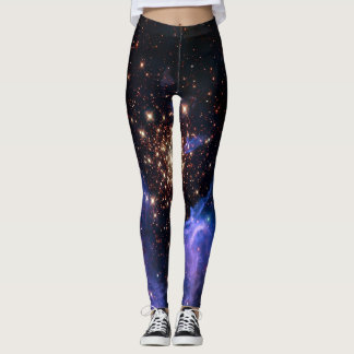 NGC 3603 super star cluster NASA Leggings