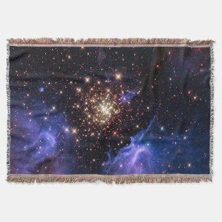 NGC 3603 super star cluster NASA Throw Blanket
