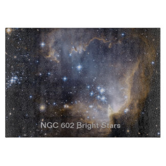 NGC 602 bright stars Cutting Board