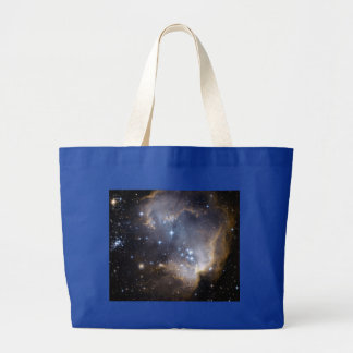 NGC 602 bright stars NASA Large Tote Bag
