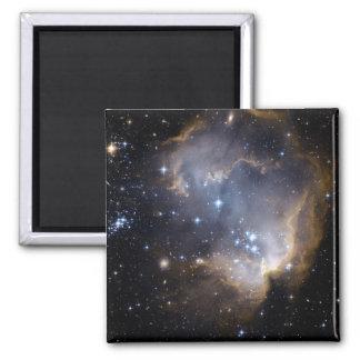 NGC 602 bright stars NASA Magnet