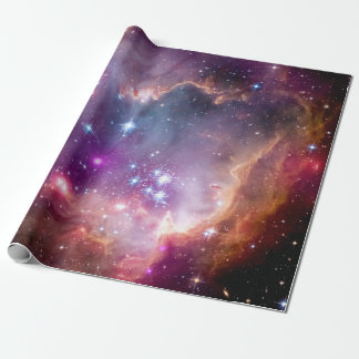 NGC 602 Star Formation - NASA Hubble Space Photo Wrapping Paper