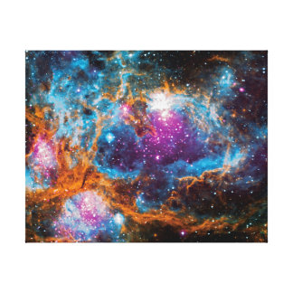NGC 6357 Star Forming Region Colorful Space Photo Canvas Print