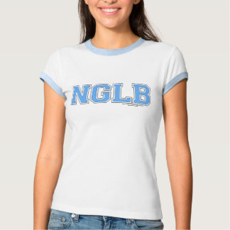 NGLB LOGO Powder Blue, No Girl Left Behind T Shirt