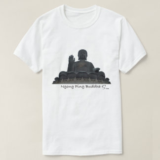 Ngong Ping Buddha in Hong Kong T-Shirt