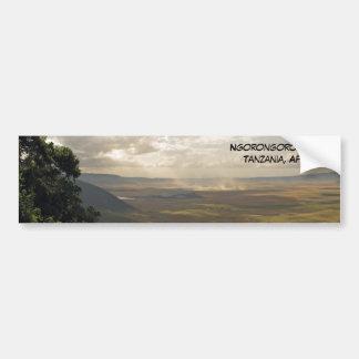 Ngorongoro Crater Tanzania, Africa Bumper Sticker
