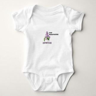 NH live free or die Baby Bodysuit