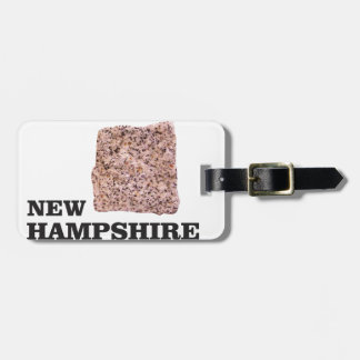 NH rock Luggage Tag
