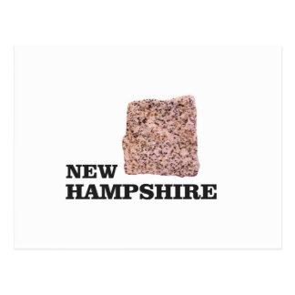 NH rock Postcard