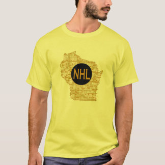 NHL in Wisconsin T-Shirt