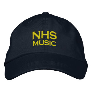 NHS Music Adjustable Cap Embroidered Hat