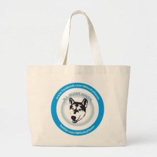 NI Husky Haven Logo Large Tote Bag