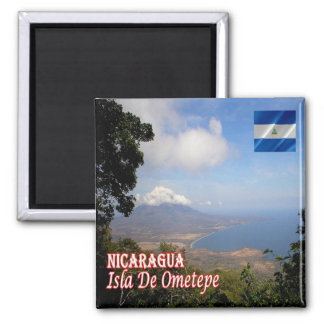 NI - Nicaragua - Ometepe Island Magnet