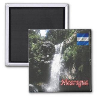 NI - Nicaragua - Waterfall in Cerro Apante Magnet